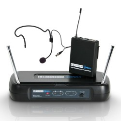 LD Systems ECO 2 Series - Wireless Microphone System with Belt Pack and Headset 864.500 MHz