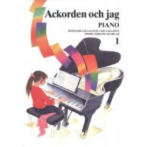 Ackorden och jag 1, piano