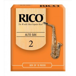 Reeds, Altsax, RICO, 2.0 10-pack