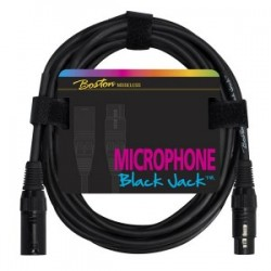 Microphone cable, XLR, 10m